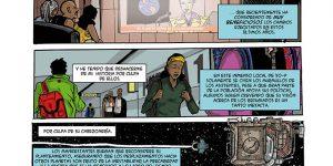 """Alienados"", para a antoloxía ""Refugiados: Viñetas Solidarias"""