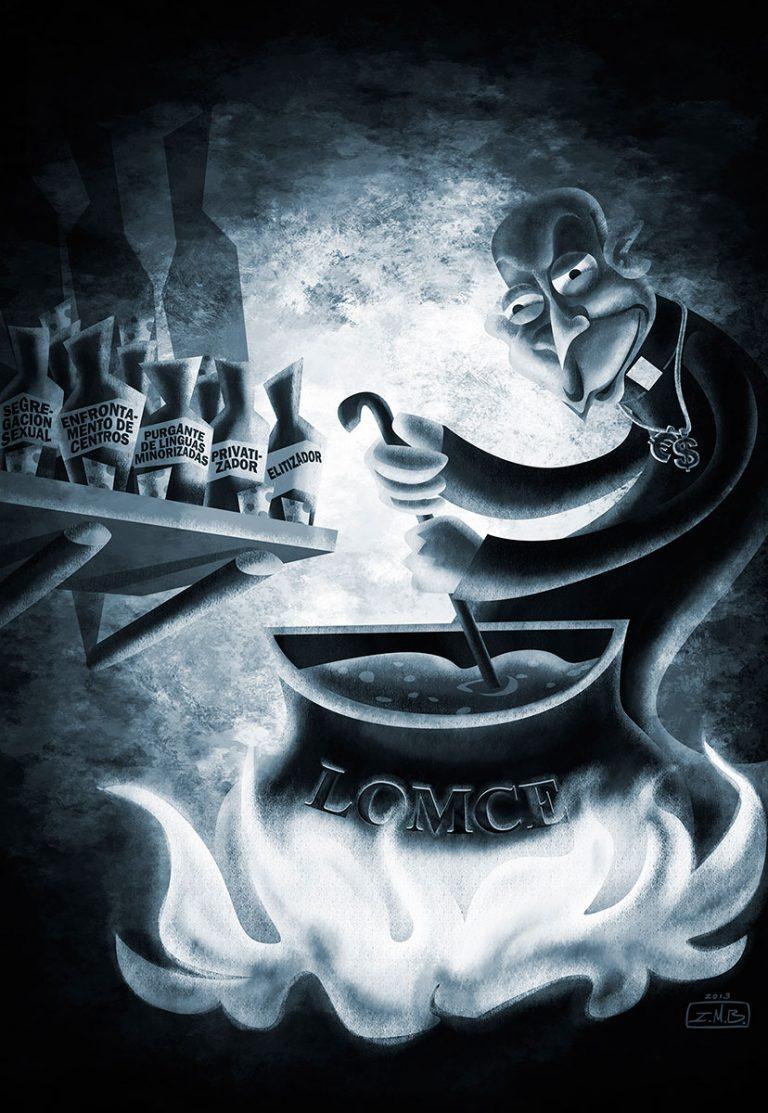 A cocción da LOMCE (por I. Mouronte B.)