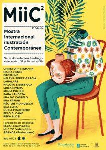 MiiC – Mostra Internacional de Ilustración Contemporánea @ Sede Afundación Santiago de Compostela