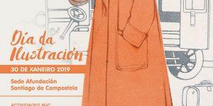 Cartel con ilustración de Federico Ribas