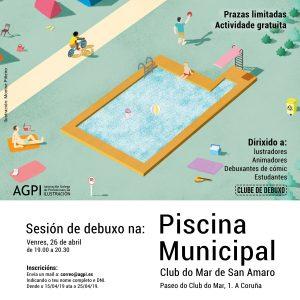 Club de Debuxo na Piscina Municipal @ Piscina do Clube do Mar – A Coruña