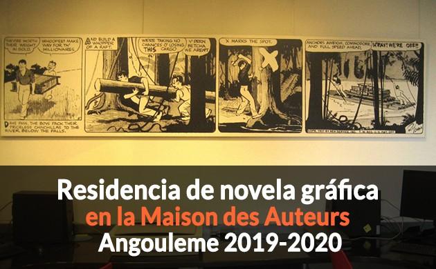Fin de inscrición Residencia de Novela Gráfica Maison des Auteurs