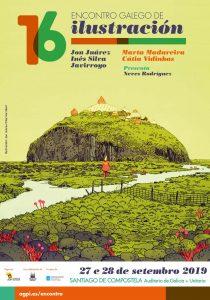 16 Encontro Galego de Ilustración @ Auditorio de Galicia, Santiago de Compostela